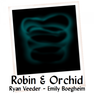 Robin & Orchid