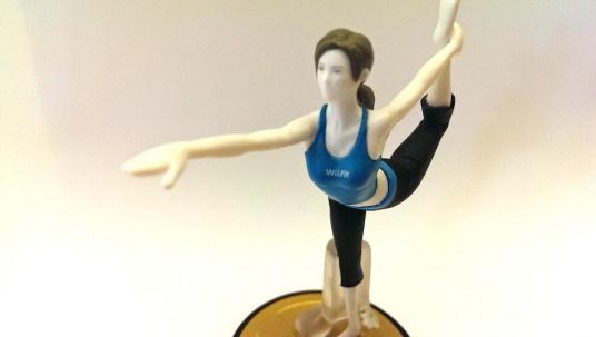 My Wii Fit Trainer Amiibo Mod | Ryan Veeder